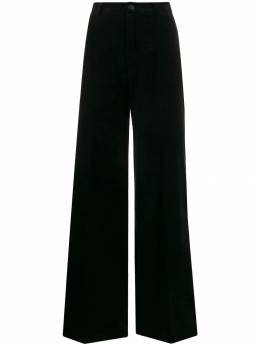 Forte Forte - velvet wide-leg trousers 6MYPANTS955335390000