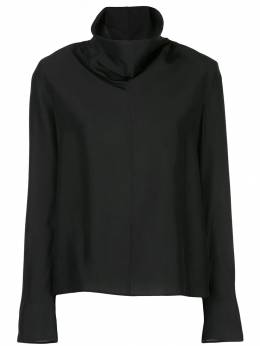 The Row - draped turtle neck sweater 6W953995598665000000