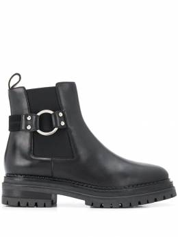 Sergio Rossi - buckle ankle boots 636MMV90695533996000
