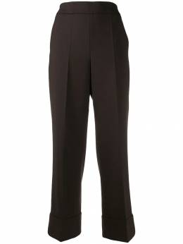 Incotex - cropped flared trousers 606D9090953355330000