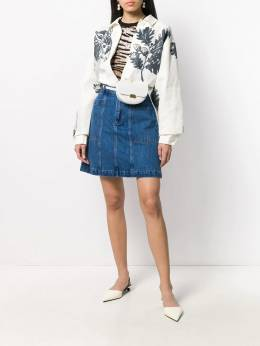 A.P.C. - A-line denim skirt CCF66088955398380000