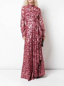 Jonathan Simkhai - metallic flared dress 9660J955553690000000