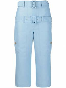 Lanvin - double belted cropped trousers R569U5053H9995539603
