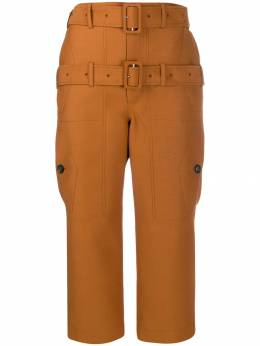 Lanvin - double belted cropped trousers R569U5053H9995539608