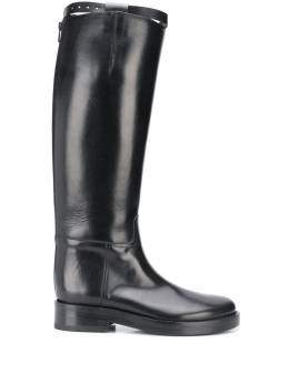 Ann Demeulemeester - zip up boots 50860W33595536359000