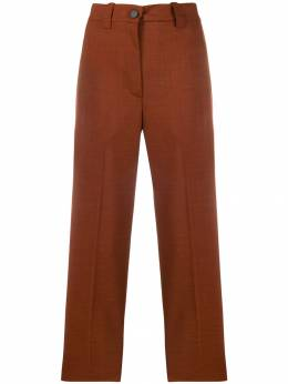 Erika Cavallini - high waisted cropped trousers L6395508869000000000