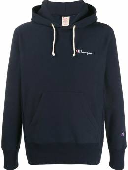 Champion - relaxed-fit logo embroidery hoodie 33595596639000000000