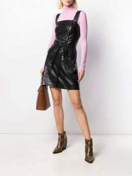 Nanushka - faux-leather dress 69699559350300000000