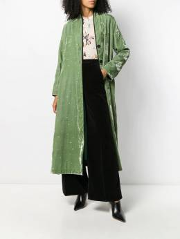 Forte Forte - long velvet duster coat 8MYCOAT9553358900000