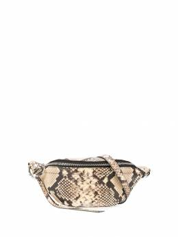 Rebecca Minkoff - Bree snakeskin-effect belt bag 9SPF6399550833600000