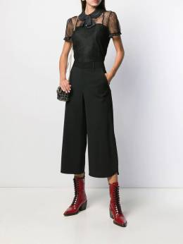 Red Valentino - straight cropped trousers RBB36WBP955960530000