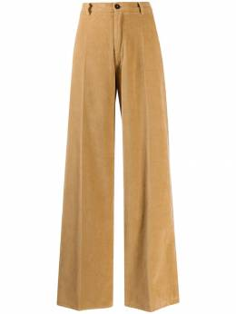 Forte Forte - velvet wide-leg trousers 6MYPANTS955335380000