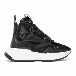 Mm6 Maison Margiela Black Padded High-Top Sneakers 192188F12701803GB