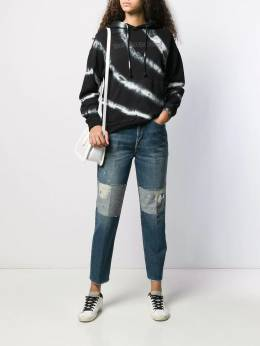Golden Goose - high rise patch detail jeans WP995A39559883900000