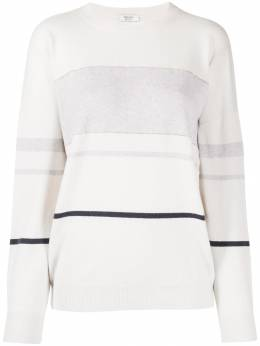 Peserico - striped relaxed-fit jumper 993F9096939553663300