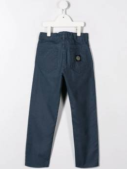 Stone Island Junior - washed canvas trousers 996J6096955895330000