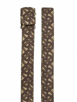 Burberry - monogram print belt 93559690955999690000