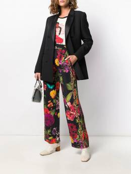 Alice+Olivia - Benny floral wide leg trousers 69P55969BENNY9555993