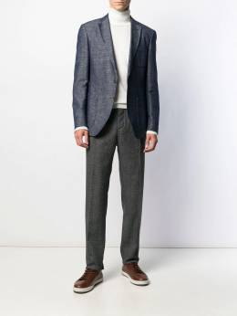 Incotex - prince of wales check tailored trousers 36996639955365890000