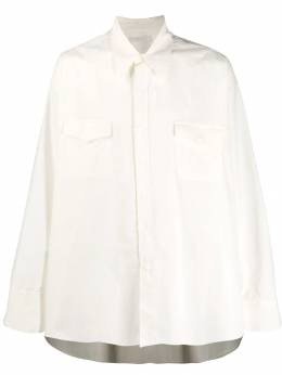 Our Legacy - New Frontier oversized shirt 30OECOCOWHT955905530