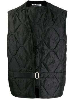 Our Legacy - Langoustine quilted vest 99LCNYNYBL9559005000