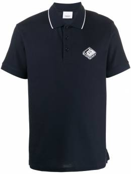 Burberry - piqué logo graphic polo shirt 98359550663600000000
