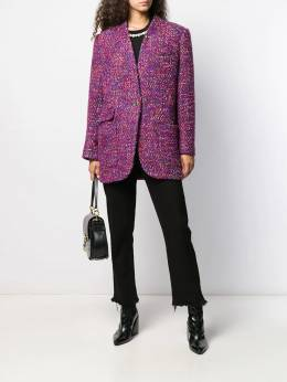 Veronica Beard - single-breasted embroidered coat 8OW66330669555598900