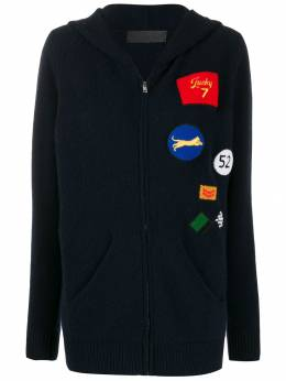 The Elder Statesman - multi patches knitted jacket PHCHP955955090000000