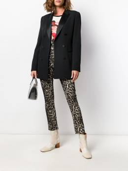 Alice+Olivia - Connley shimmer leopard trousers 69R96968CONNLEY95559