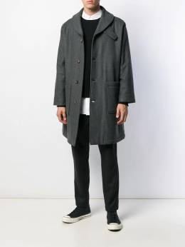 Société Anonyme - patch pocket coat FFYXIX95559656000000