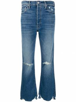 Mother - ripped flared jeans 60599553586600000000