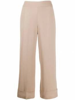 Peserico - cropped flared trousers 33803569553663000000