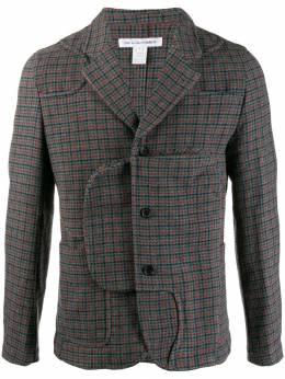 Comme Des Garçons Shirt - fitted single-breasted blazer 96595550053000000000