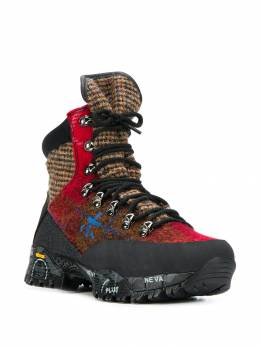 Premiata - panelled hiking boots TRECD960955085930000