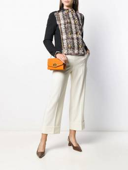 Incotex - cropped wide-leg trousers 606D9966955365680000
