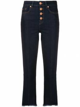 7 For All Mankind - fringed highwaisted jeans BA386RB9559665900000