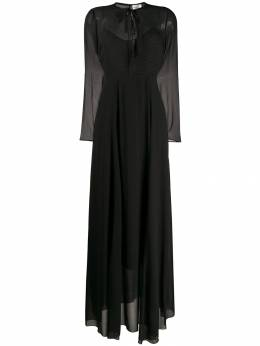 Forte Forte - tie fastening long dress 9MYDRESS955560830000