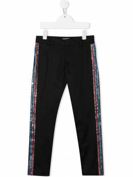Balmain Kids - tailored embellished trousers 596LC966955503330000