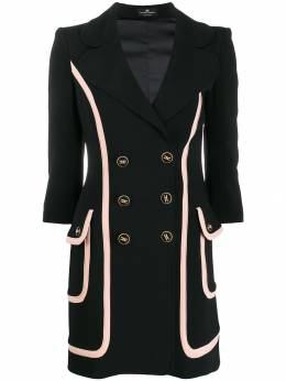 Elisabetta Franchi - fitted double-breasted coat 3393E095566835000000