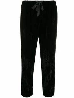 Forte Forte - cropped velvet trousers 3MYPANTS955353930000