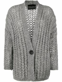 Roberto Collina - open-knit cardigan 69695508908000000000