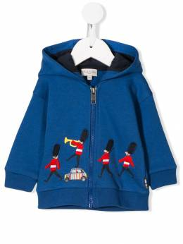 Paul Smith Junior - embroidered marching soldiers hoodie 35095369555965600000