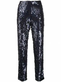 P.A.R.O.S.H. - sequined straight-leg trousers 66909553533800000000