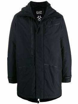 Ea7 Emporio Armani - hooded padded coat B90PNU0Z955550550000