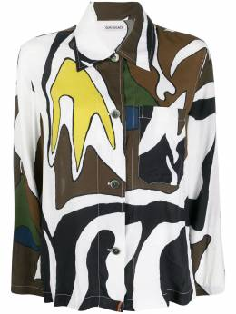 Our Legacy - Square abstract-print shirt 90STS955598630000000