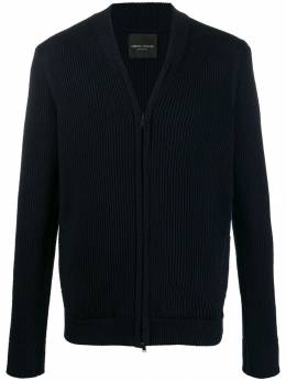Roberto Collina - ribbed zip-up cardigan 09689553988600000000