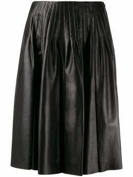 Drome - flared pleat-detailed skirt 9868PD566P9553559000