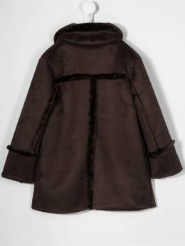 Douuod Kids - single-breasted trimmed jacket 63996955580050000000