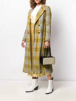 Forte Forte - checked mid length coat 6MYCOAT9555996900000