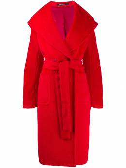 Tagliatore - belted double-breasted coat 09955333960000000000
